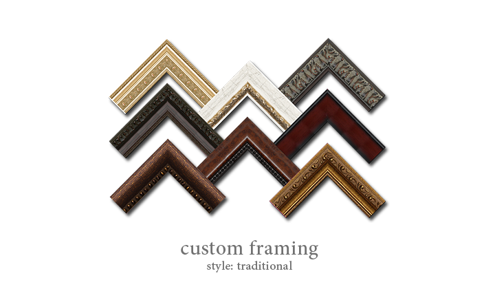 Custom Framing - Style: Traditional