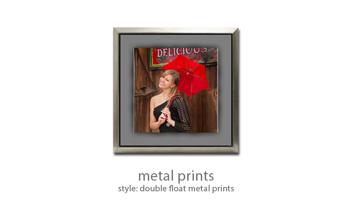 Metal Print - Style: Double Float