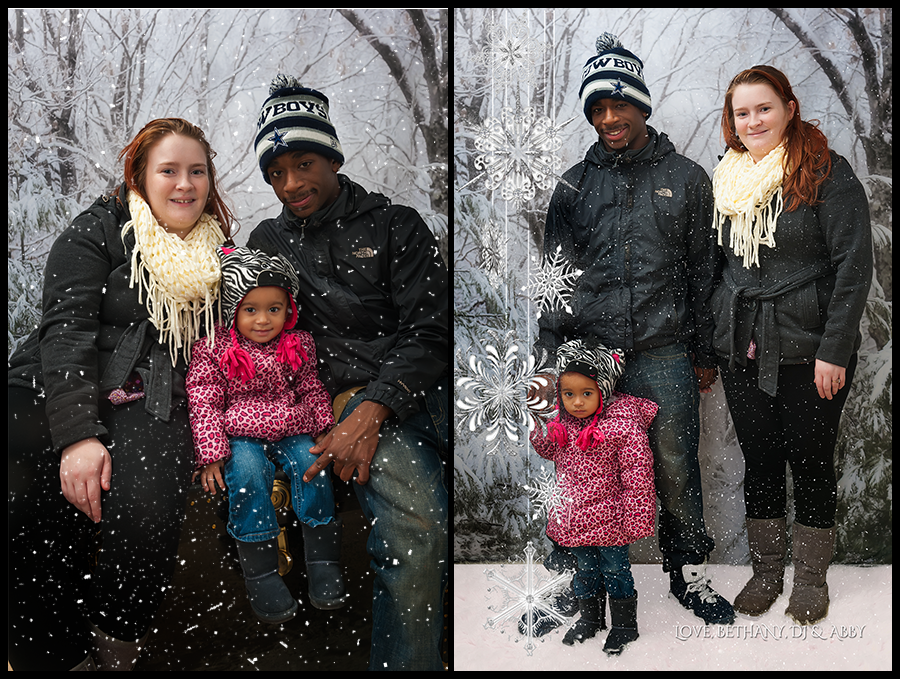 Reaney Family Portrait Session With Snow