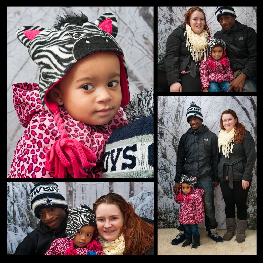 Reany Family Portrait Session Collage