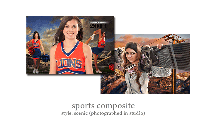 Sports Composite - Style: Scenic (Studio Composite)