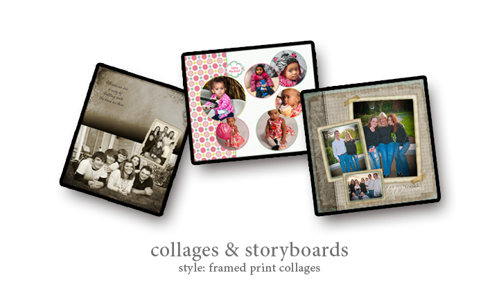 Collage - Style: Framed Print Collages