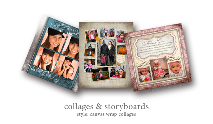 Wall Collage - Style: Canvas Wrap Collages