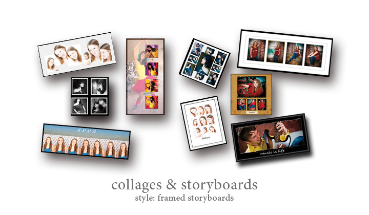 Collage - Style: Framed Storyboards